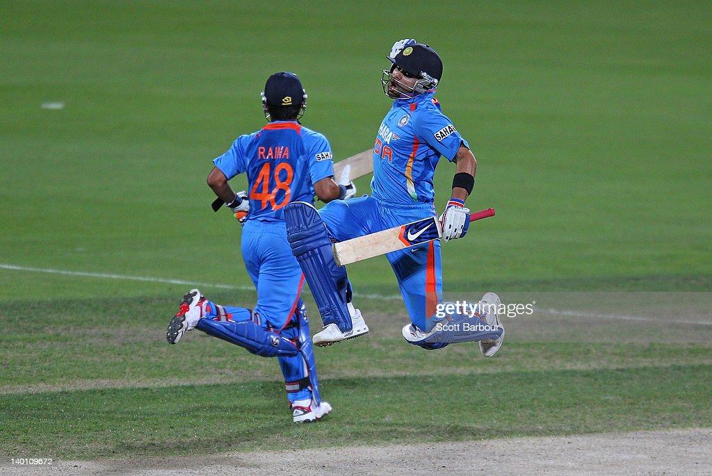 India v Sri Lanka - Tri-Series Game 11 : ニュース写真