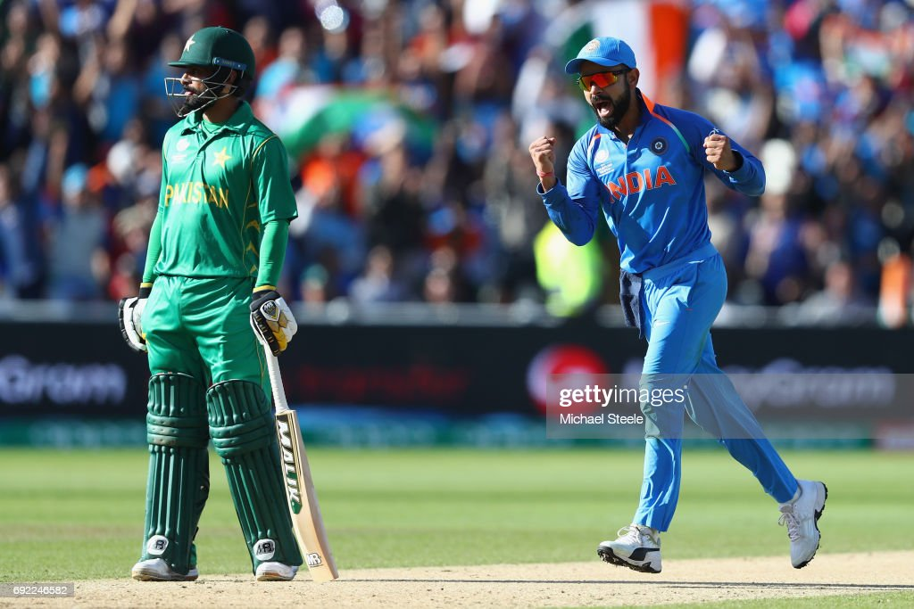 India v Pakistan - ICC Champions Trophy : News Photo