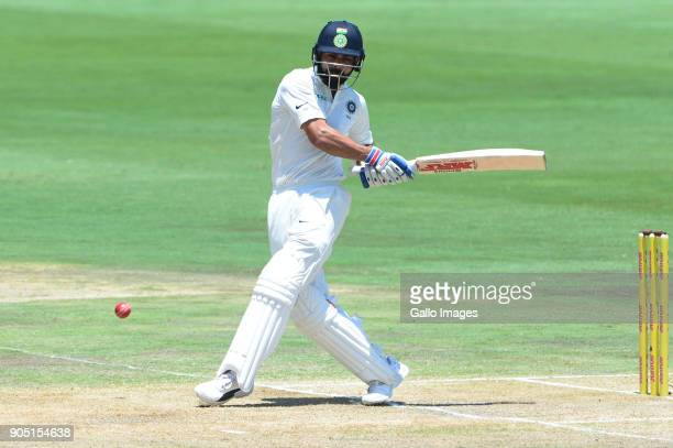 Virat Kohli of India during day 3 of the 2nd Sunfoil Test match between South Africa and India at SuperSport Park on January 15 2018 in Pretoria...
