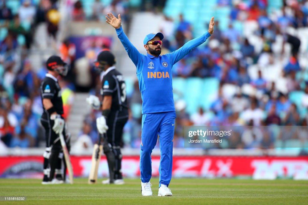 India v New Zealand – ICC Cricket World Cup 2019 Warm Up : News Photo