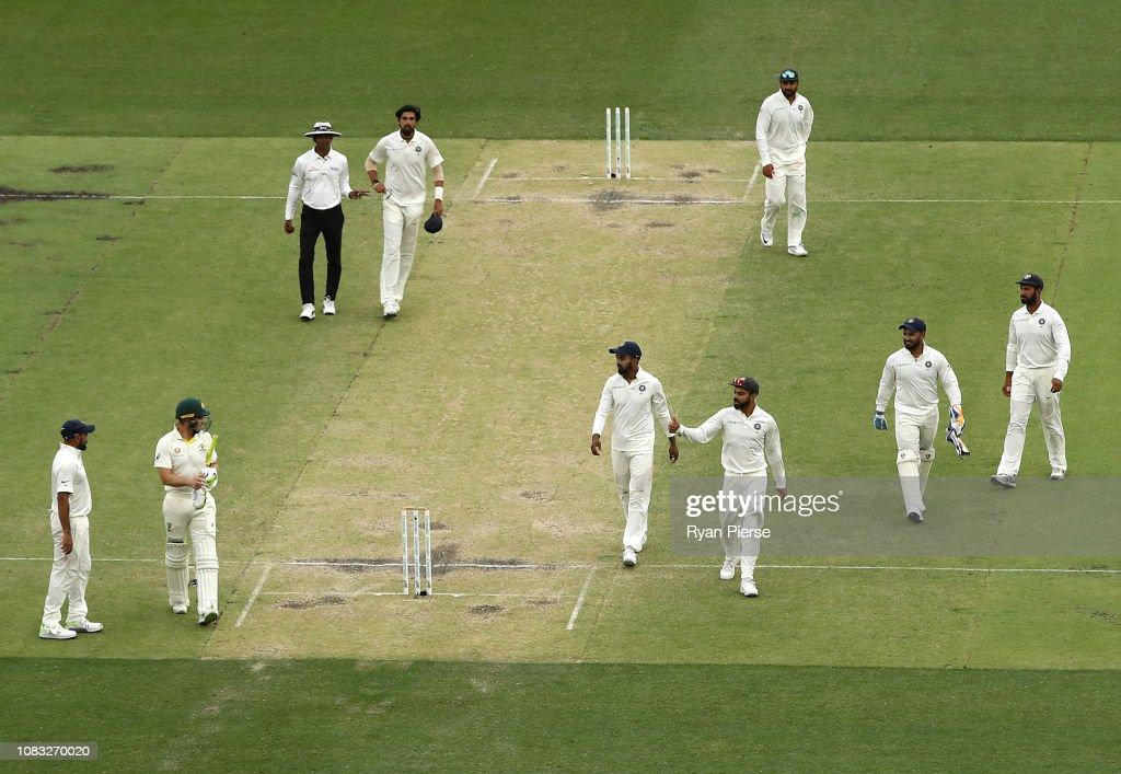 Australia v India - 2nd Test: Day 3 : News Photo