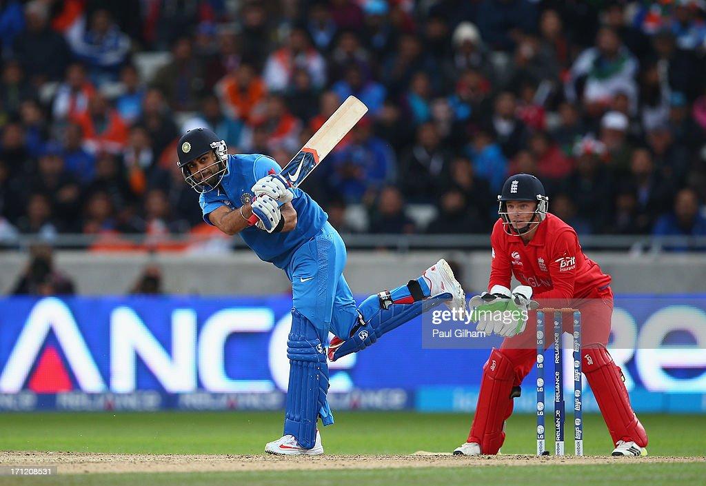 England v India: Final - ICC Champions Trophy : News Photo