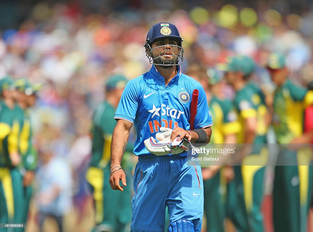 Australia v India: Carlton Mid ODI Tri Series - Game 2 : News Photo
