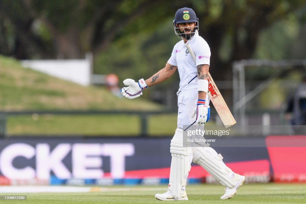 New Zealand v India - Second Test: Day 2 : News Photo