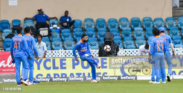 30 Top 3rd Cricket Odi India V West Indies Pictures, Photos