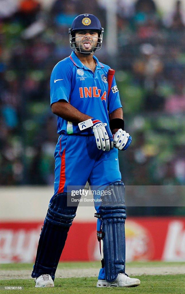 India v Bangladesh: Group B - 2011 ICC World Cup