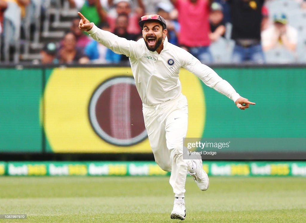 Australia v India - 3rd Test: Day 5 : News Photo