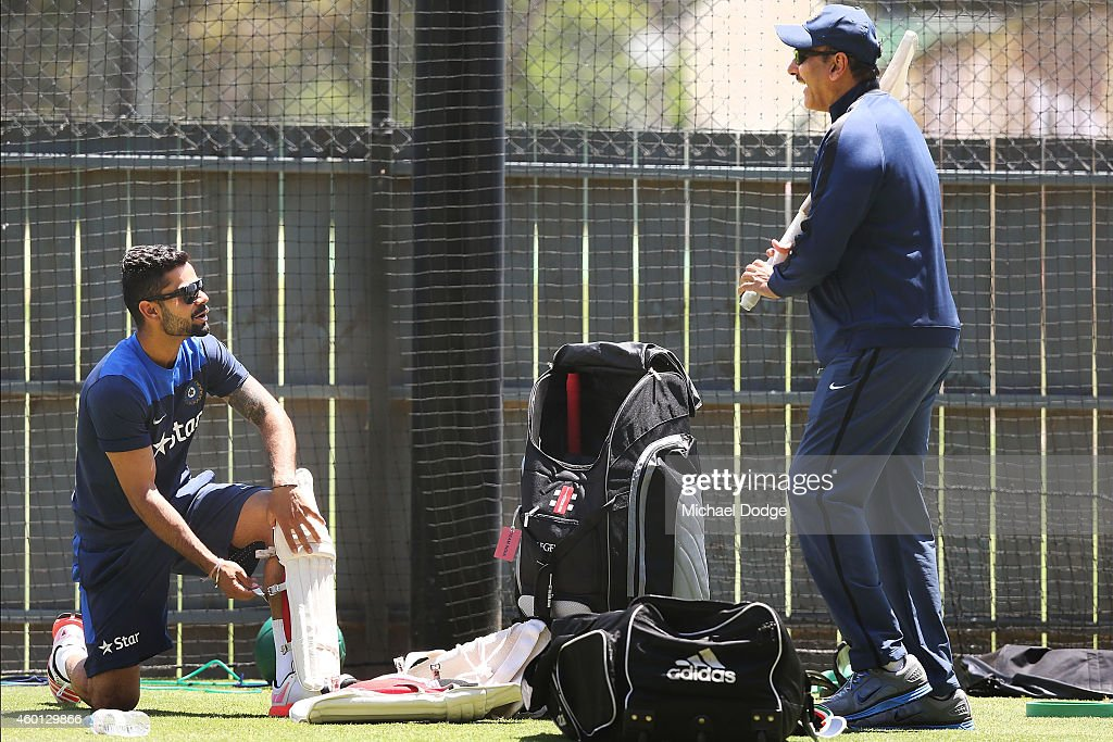 India Training Session : News Photo