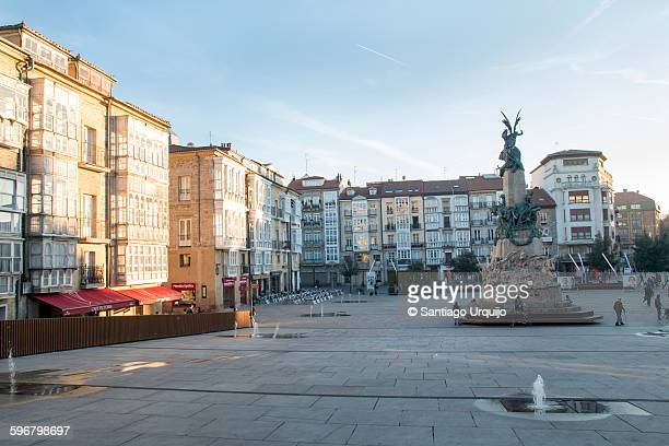Virgen Blanca square in Vitoria-Gasteiz