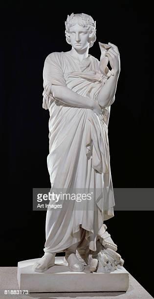 Virgil (70-19 BC) 1861 (marble)