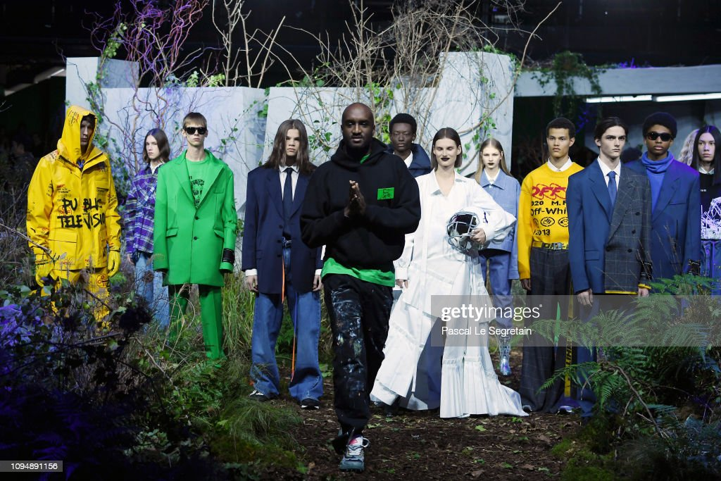 Off-White : Runway - Paris Fashion Week - Menswear F/W 2019-2020 : Foto jornalística