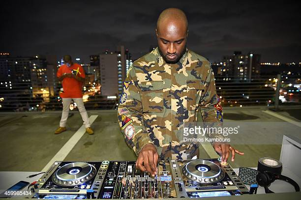 Virgil Abloh attends Paper Magazine Sprout By HP DKNY Break The Internet Issue Release at 1111 Lincoln Road on December 4 2014 in Miami Florida