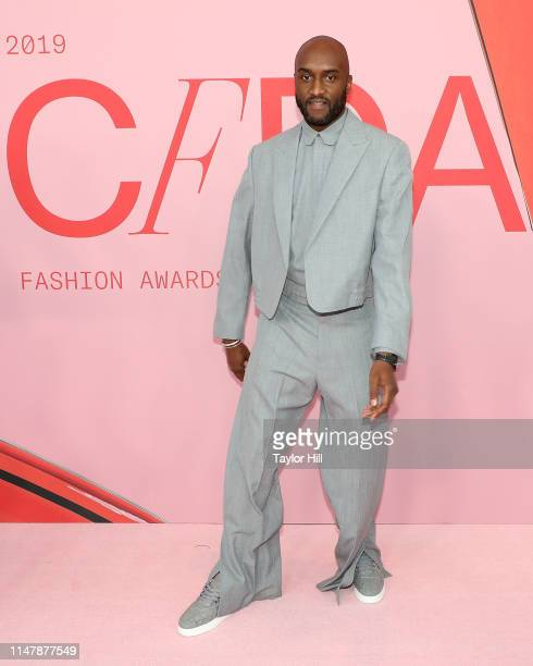 Virgil Abloh attends the 2019 CFDA Awards at The Brooklyn Museum on June 3, 2019 in New York City.