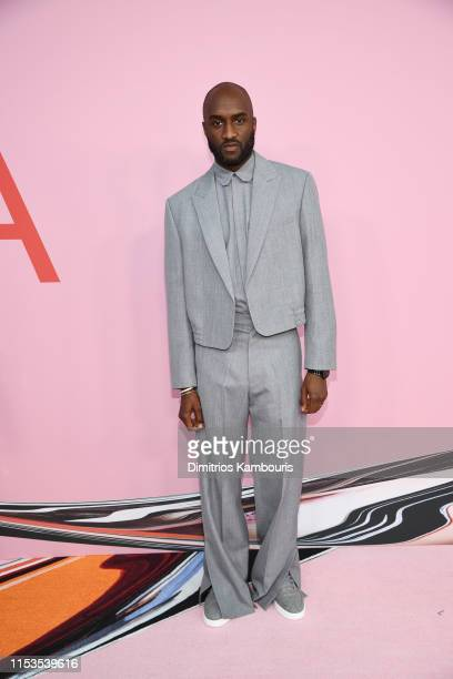 Virgil Abloh attends the CFDA Fashion Awards at the Brooklyn Museum of Art on June 03 2019 in New York City