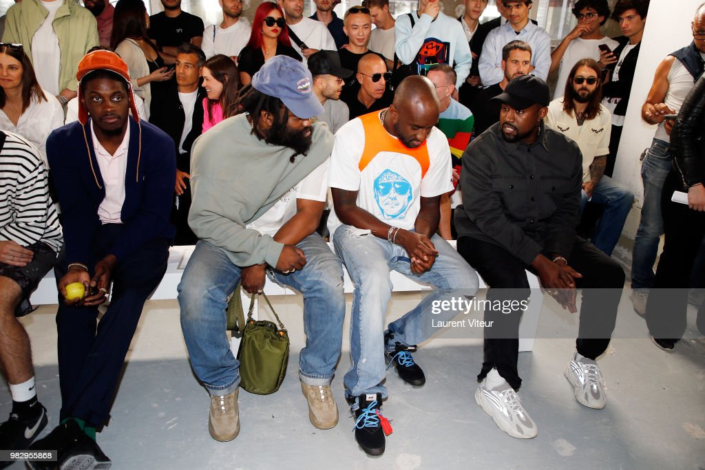 1017 ALYX 9SM : Front Row - Paris Fashion Week - Menswear Spring/Summer 2019