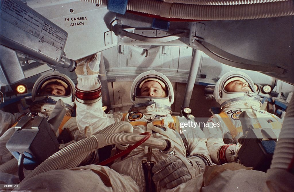 Apollo 1 Crew : News Photo