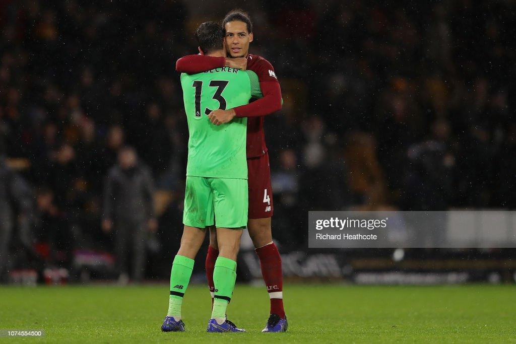 Wolverhampton Wanderers v Liverpool FC - Premier League : News Photo