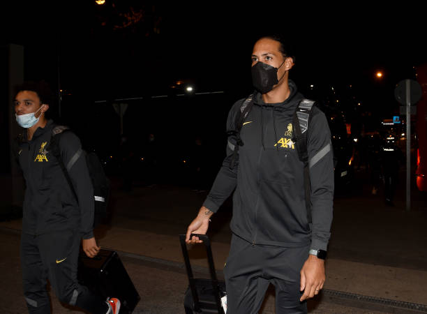 ESP: Liverpool Arrive in Madrid for UEFA Champions League