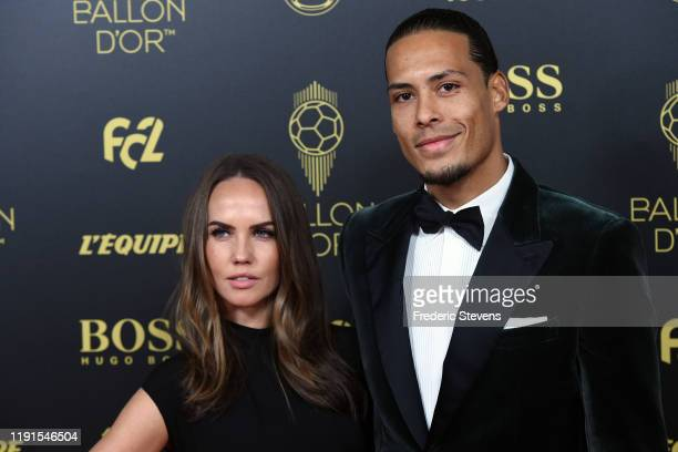 Virgil van Dijk attends the photocall before the Ballon D'Or Ceremony at Theatre Du Chatelet on December 02 2019 in Paris France