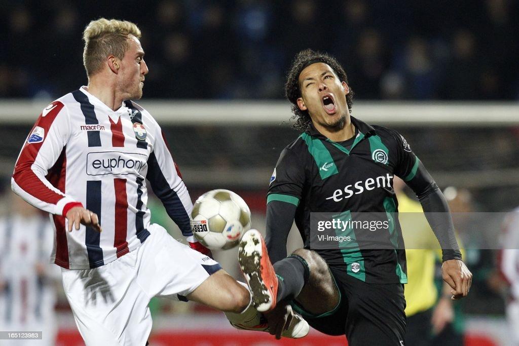 Dutch Jupiler League - Willem II v FC Groningen : News Photo