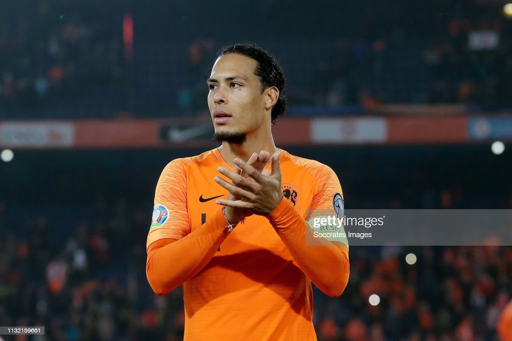 Holland v Belarus -EURO Qualifier : News Photo