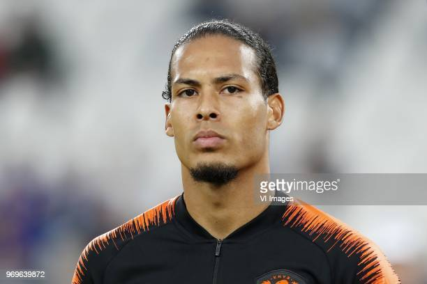 Virgil van Dijk of Holland during the International friendly match between Italy and The Netherlands at Allianz Stadium on June 04 2018 in Turin Italy