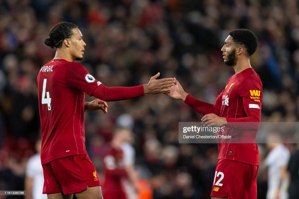 Liverpool FC v Sheffield United - Premier League : Foto di attualità