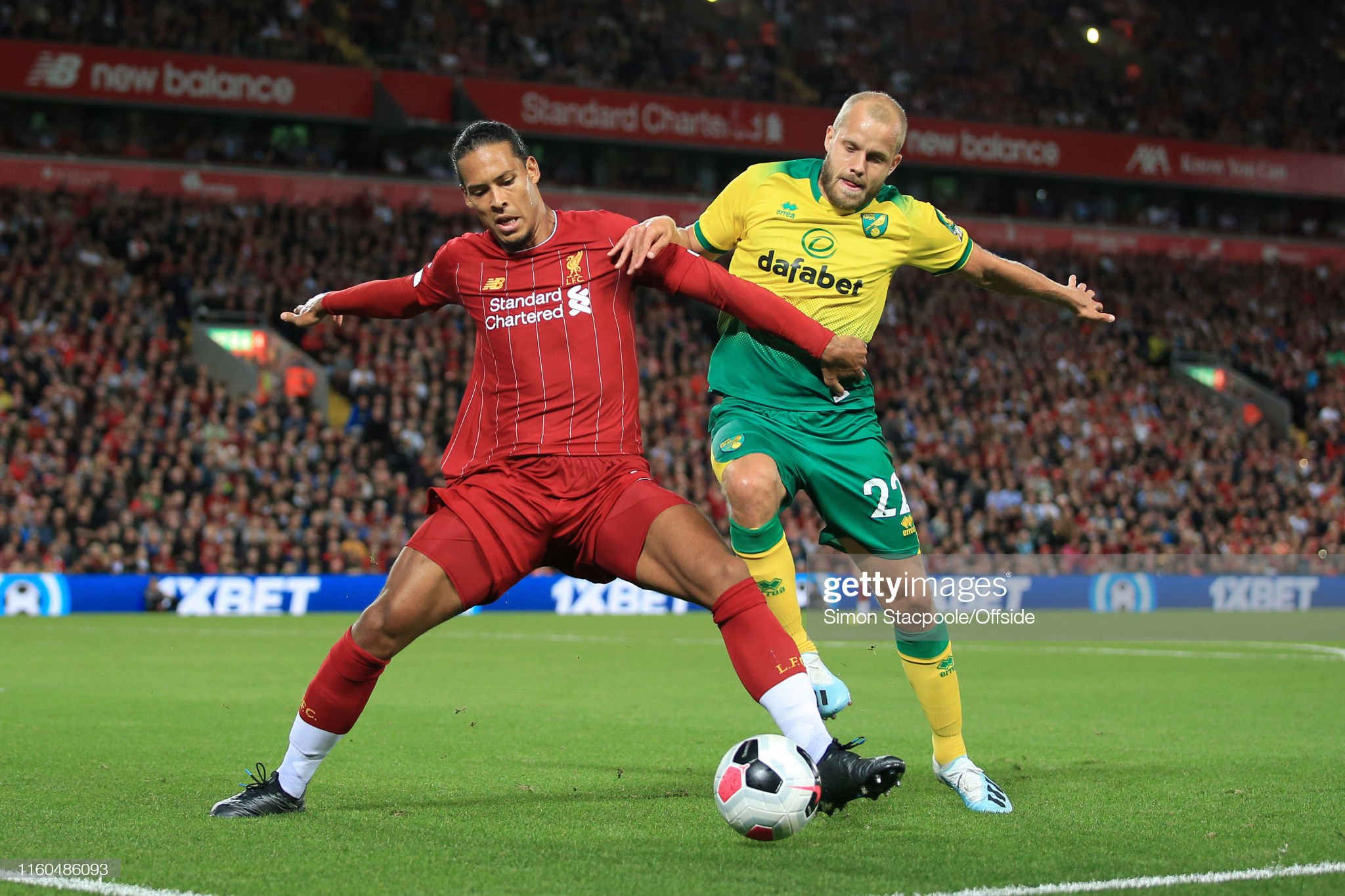 Liverpool v Norwich City - Premier League : News Photo