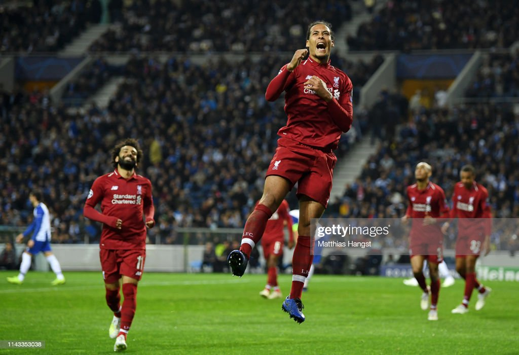 PRT: Porto v Liverpool - UEFA Champions League Quarter Final: Second Leg