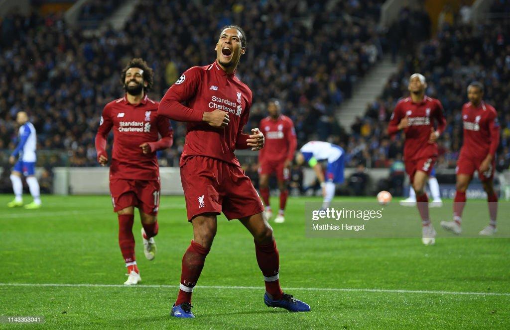 Porto v Liverpool - UEFA Champions League Quarter Final: Second Leg : News Photo