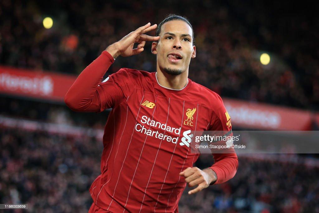 Liverpool FC v Brighton & Hove Albion - Premier League : ニュース写真