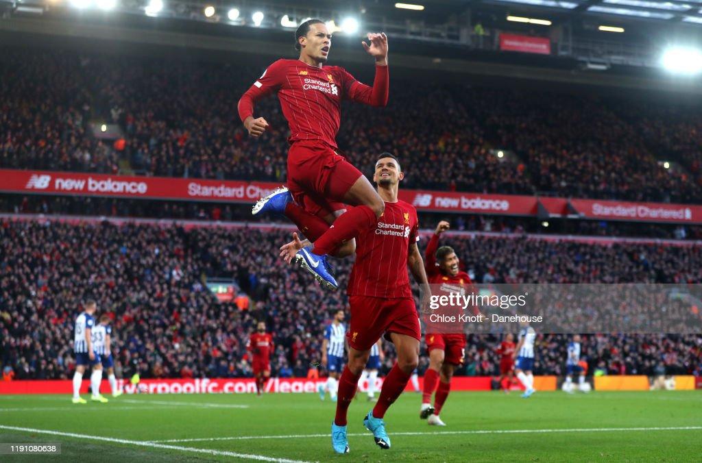 Liverpool FC v Brighton & Hove Albion - Premier League : News Photo