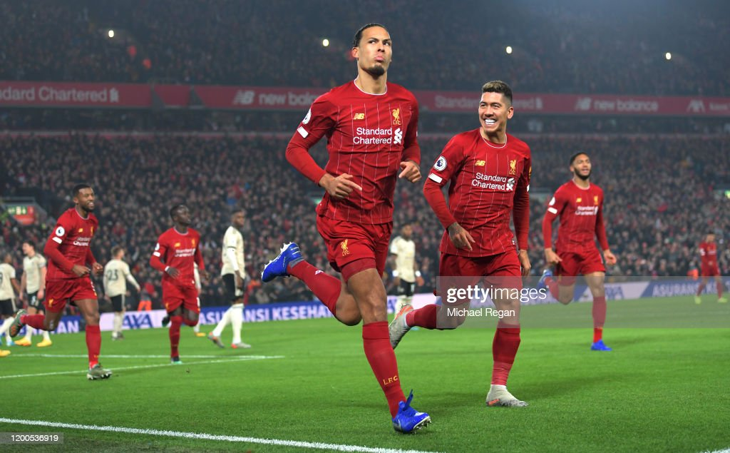 Liverpool FC v Manchester United - Premier League : Foto jornalística