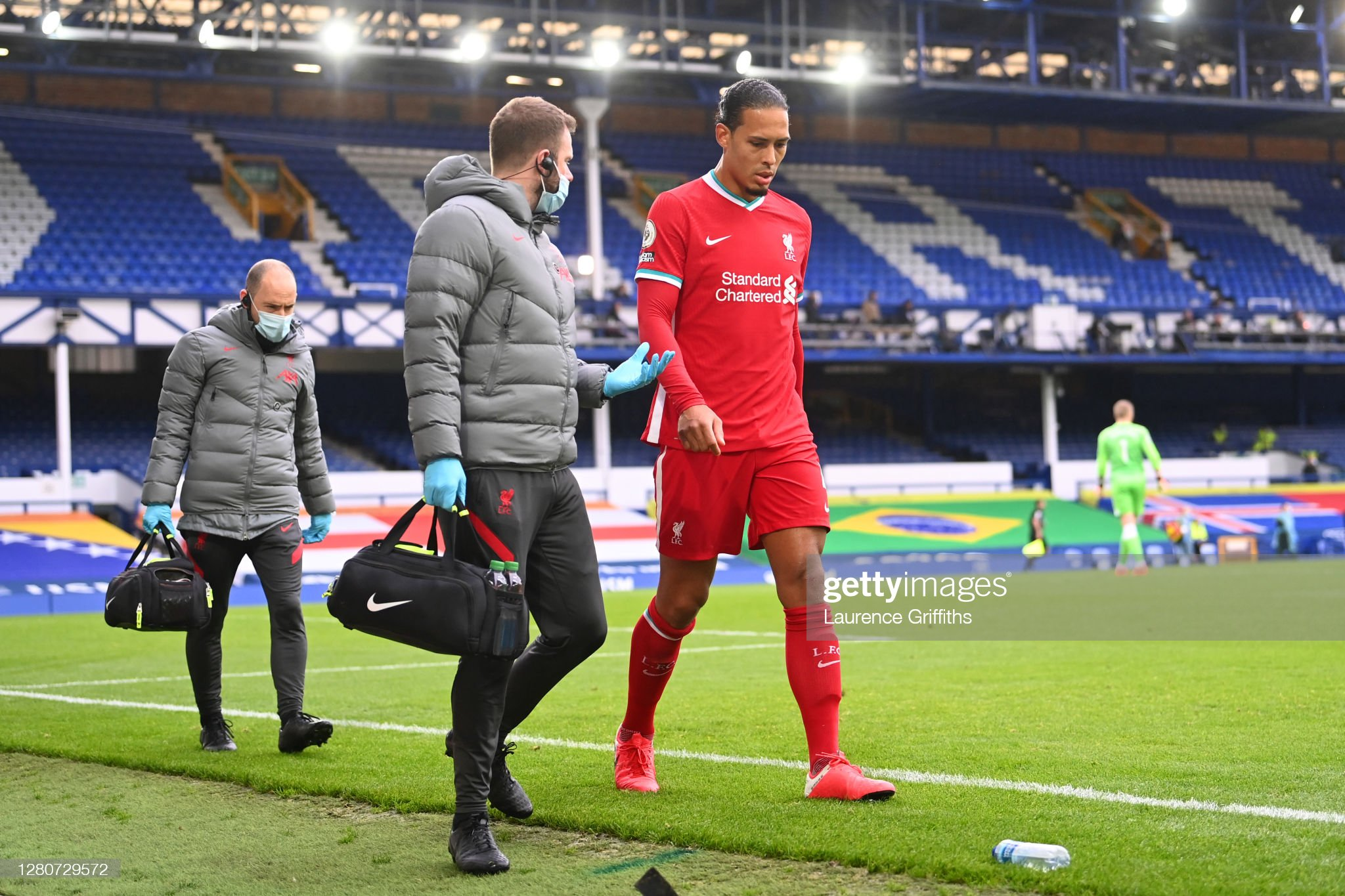 Van Dijk injury could prove highly costly for Liverpool