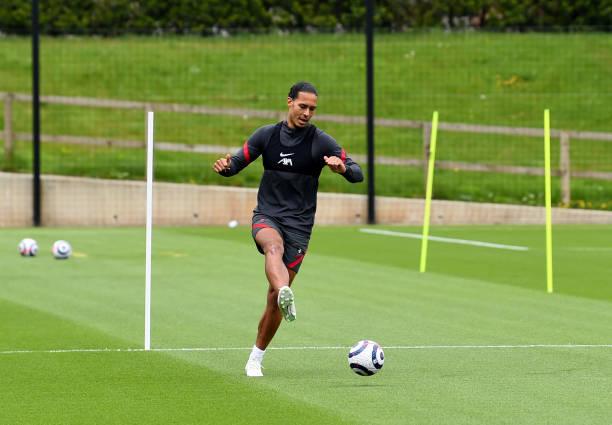 GBR: Virgil van Dijk Continues his Rehabilitation at Liverpool