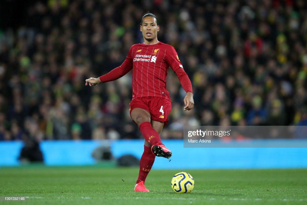 Norwich City v Liverpool FC - Premier League : News Photo