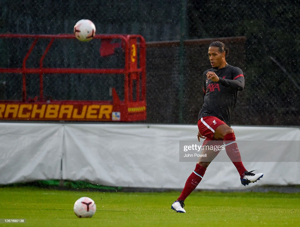 Virgil Van Dijk Of Liverpool During The Pre Season Friendly Match News Photo Getty Images