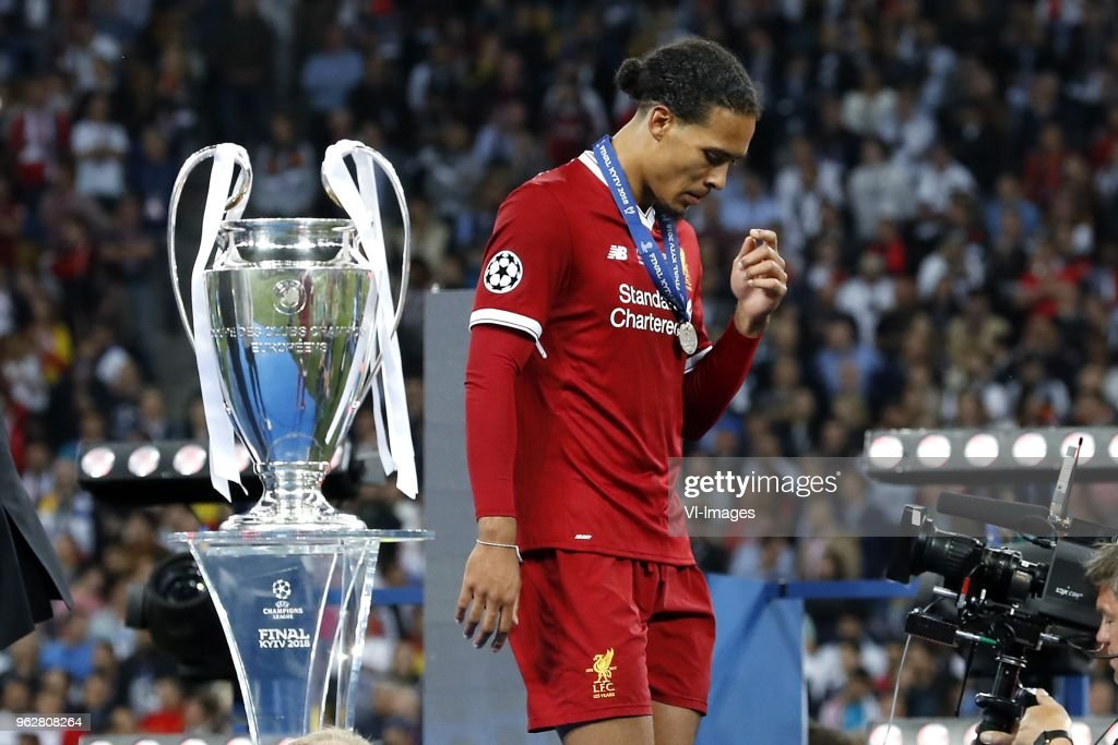 Virgil van Dijk slams 'jealous' rivals for celebrating Liverpool's CL final defeat