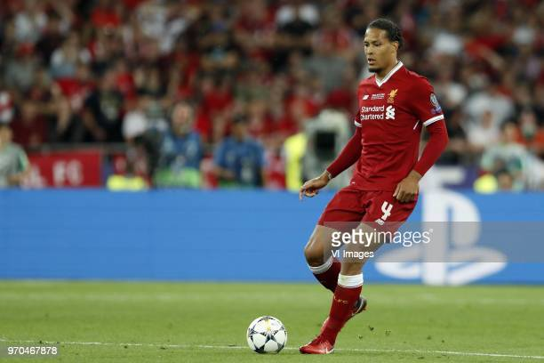 Virgil van Dijk of Liverpool FC during the UEFA Champions League final between Real Madrid and Liverpool on May 26 2018 at NSC Olimpiyskiy Stadium in...