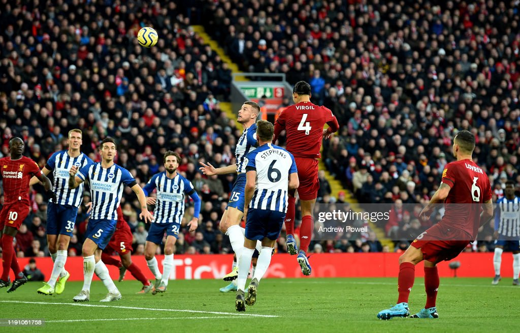 Liverpool FC v Brighton & Hove Albion - Premier League : News Photo