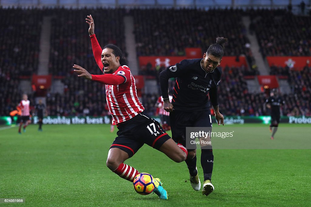 Southampton v Liverpool - Premier League : News Photo