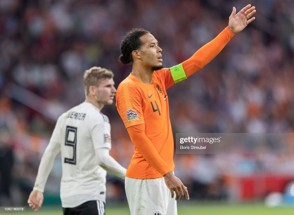 Netherlands v Germany - UEFA Nations League A : News Photo