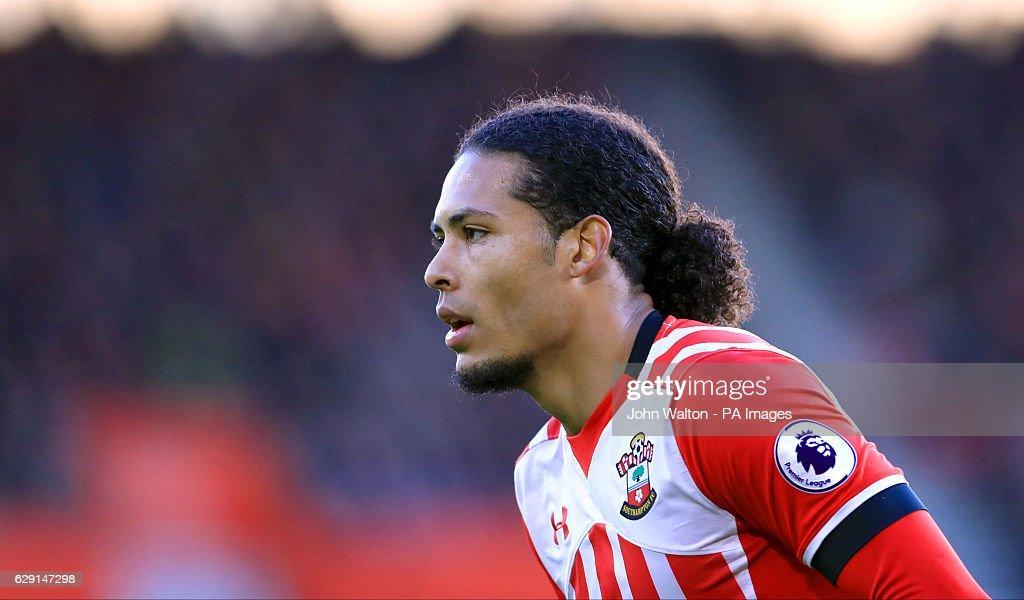 Southampton v Middlesbrough - Premier League - St Mary's : News Photo