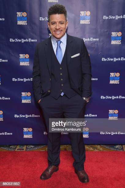Virgil Williams attends IFP's 27th Annual Gotham Independent Film Awards on November 27 2017 in New York City