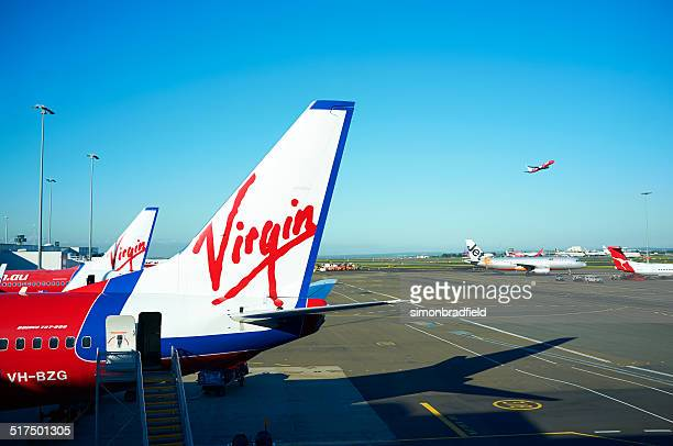 Virgin 737 At Sydney's Kingsford Smith Airport