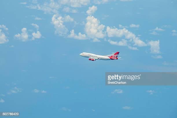 バージン 747 - ヴァージンアトランティック航空 ストックフォトと画像