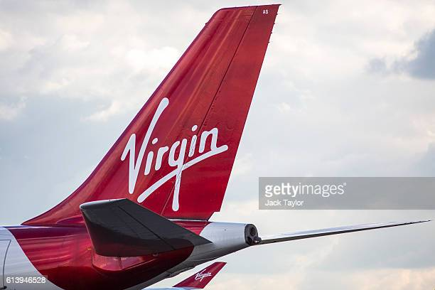 Virgin Airways aircraft at Heathrow Airport on October 11 2016 in London England The UK government has said it will announce a decision on airport...