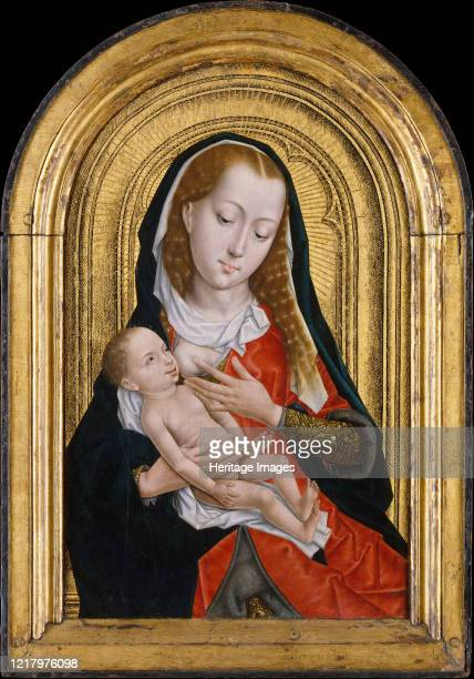 Virgin and Child 147599 Devotional Virgo lactans became extremely popular in fifteenthcentury painting Artist Master of the Saint Ursula Legend...