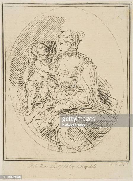 Virgin and Child, 1775. Artist Unknown.