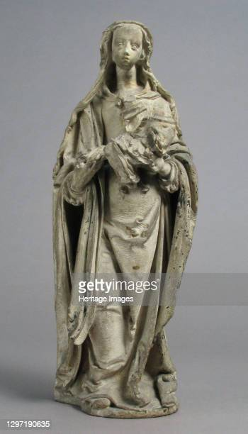 Virgin and Child, French, circa 1550-60. Artist Atelier of the Juliots.